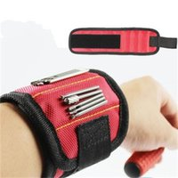 Wholesale scissors belt for sale - Group buy Strong Magnetic Wristband Magnet Holding Scissors Tools Belt Admission Wrist Strap Repair Tool Bracelets Practical Toolkit be H1
