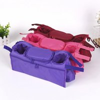 Wholesale baby clothes diapers resale online - Baby Stroller Bag BabyDiaper BagHanging Bottle Storage Bag Portable Maternity Clothes Baby Stroller Storage Hanging Diaper