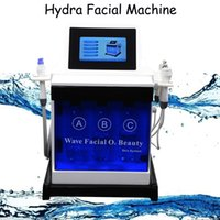 Wholesale professional rf facial machines resale online - Professional microdermabrasion machines oxygen therapy water peel dermabrasion multipolar RF Microdermabrasion Hydro Facial Machine IN