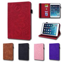 Wholesale samsung galaxy tab 9.7 flip cover for sale - Group buy Calfskin Texture Shockproof Tablet Case for Apple iPad Pro Samsung Galaxy Tab A T290 Multi Card Slots Flip Stand Protective Covers