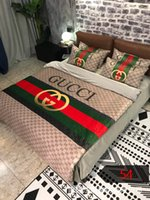 Wholesale king queen size bedding sets for sale - Group buy Fashionable Luxury Bedding Set King Size Twin Full Queen Single Double Duvet Cover Set Nice Soft Touching Comforter Cover with Pillowcase