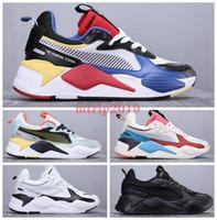 sütyen oyuncağı toptan satış-2019 Yeni Yüksek Kalite puma x Transformers RS-X RS Yenileme Oyuncaklar Erkek Koşu Ayakkabıları Marka Tasarımcısı Hasbro Transformers Casual Bayan rs x Sneakers 36-45