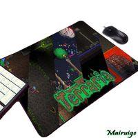 mini-computer-tische großhandel-Mairuige Terraria Videospiel Computer-Gaming Mousepad Small Size Mini-PC Computer-Gamer-Spiel-Tisch Mauspad Pad Tastatur