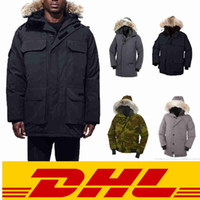 Wholesale top china resale online - Top quality fashion warm down coat with real wolf fur keep warm in winter coat factory in china clear coat