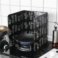 alüminyum ocak toptan satış-Farklı Kaktüs Baskılı tasarım Alüminyum Folyo Yağı Blok Yağı Bariyer Soba Cook Anti-Sıçramasına Yağ Bölme Isı Yalıtımı Mutfak Eşyaları