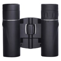 Wholesale telescope 8x21 resale online - 8X21 Compact Zoom Binoculars Long Range m Folding Hd Powerful Mini Telescope Bak4 Optics Hunting Sports Camping