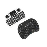 fs remoto al por mayor-Nuevo teclado inalámbrico rii i8 teclados Fly Air Mouse Control remoto multimedia Touchpad de mano para TV BOX Android Mini PC B-FS