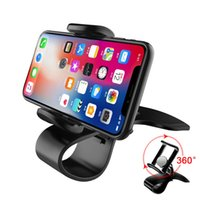 Wholesale dashboard bracket for sale – best LAUTO Universal Car Phone Holder Rotating Auto Dashboard Cell Phone GPS Mount Holder Stand Bracket Clip Car styling