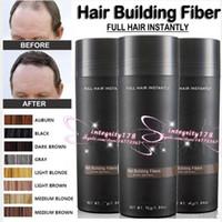 extensiones de cabello colores al por mayor-27.5g 9 colores Hair building Fiber Spray Aplicador Boquilla de rociado Spray de cabello Para Extensiones de pérdida de cabello DHL