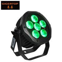 Wholesale par lights for sale - Gigertop TP W0618 x18W RGBWAP IN1 Tyanshine Led Waterproof Battery Par Light G Wireless IRC Remote Control MAH Battery