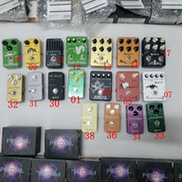 Wholesale guitar pedals resale online - Classic Guitar Effect Pedal Models Choose Multi Effects Pedals Distortion Overdrive Delay Echo Reverb Chorus Flanger Wah Volume Phase