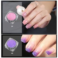 горошек-гвозди оптовых-Bron pretty Glitter Nail Art Effect  Dust Holographic Shimmer Nail Starry polka dots dresses for women nails strass hold#9