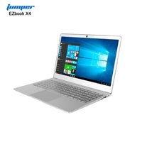kamera x4 großhandel-EZbook X4 Notebook 14,0 Zoll Windows 10 Intel Apollo Lake J3455 Quad Core 1,5 GHz 6 GB RAM 128 GB SSD 2,0 MP Frontkamera