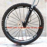 conjunto de roda 29er venda por atacado-mountain bike 26er 27.5er 29er polegadas bicicleta conjunto de aro de bicicleta rodas decalques das etiquetas para MTB SHIMANO XT M785