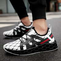 Wholesale spring damping resale online - 2019 Hottest New Blade Men s Designer Sneakers Europe and America Trend Casual Shoes Men Damping Non slip Mesh Breathable Sport Shoes