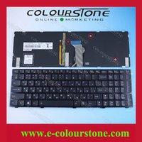 lenovo ideapad clavier achat en gros de-Ordinateur portable russe Ordinateur portable russe original pour Lenovo Ideapad 500 Y500N série Y510p clavier RU noir avec rétro-éclairage
