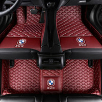 tapete de car tapete venda por atacado-Para Fit Floor Mats FloorLiner Para BMW X5 2008-2018 PU couro All-Weather Waterproof impermeável pad Carpet Car