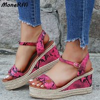 Wholesale dropshipping for shoes resale online - Dropshipping Sandals Women Wedges Shoes For Women High Heels Sandals Summer Shoes Flip Flop Chaussures Femme Platform