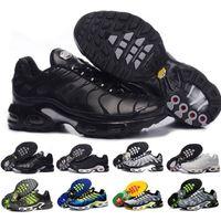 tn spor koşu ayakkabıları toptan satış-İndirim Kadın Sneakers Klasik Tn Kadınlar Ayakkabı Siyah Kırmızı Beyaz Spor Eğitmeni Kadın Yüzey Nefes Günlük Ayakkabılar Koşu