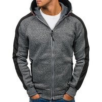 plus größe hoodies strickjacken großhandel-2018 Modemarke Mens Hoodie Warmer Reißverschluss Hoody Woolen Sweatshirt Mäntel Jacke Plus Größe M-3XL Moletom Mens Cardigan Outwear