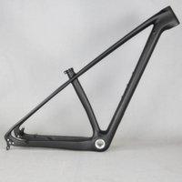 hafif çerçeve bisikletleri toptan satış-2019 Süper hafif sadece 920g 142 / 135mm karbon dağ bisikleti çerçeve 29er / 27.5er karbon mtb çerçeveleri 650b Yarış bisiklet frameset