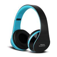 beste bluetooth drahtlose kopfhörer großhandel-Best-Selling-NX-8252 faltbare drahtlose Kopfhörer bluetooth headphons Headset Sport läuft Stereo Bluetooth V3.0 + EDR mit Retail-Verpackung