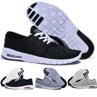 ingrosso janoski per gli uomini-Nike SB air max off white shoes vapormax Airmax TN jondon NT Janoski Scarpe da ginnastica da uomo donna Scarpe da ginnastica nere da passeggio originali di alta qualità
