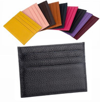 Wholesale printed christmas cards resale online - Card Holder Wallet Mens Key Pouch Womens Card Holder Handbags Leather zippy Holders Snake Purses Small Wallets Coin Purse Handbag