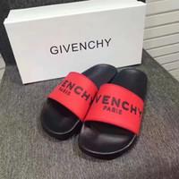 sandalias de niño 12 al por mayor-2019 nueva marca GIV PARIS 12 estilos moda zapatillas causales niños niñas tian / blooms iniciar impresión deslice sandalias unisex playa al aire libre chanclas