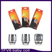 Wholesale v8 x4 coil for sale - Group buy For TFV8 BABY coil TFV8 baby Beast Tank m2 Coils Head V8 Baby T8 ohm X4 ohm Q2 ohm Core