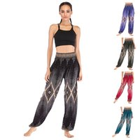 Wholesale yoga pants for women online - Eye Printing Yoga Pants For Lady High Waist Bloomers Red Black Green Trousers Comfortable High Quality Dry Fast skb D1
