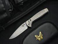 kelebek bıçak kulpları toptan satış-Benchmade-Kesiwo Sınırlı Sayıda AXIS 781 D2 Çelik Alüminyum Kolu Katlanır Bıçak Kamp Cep Survival Avcılık Kelebek 781 Bıçak Araçları