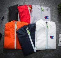 ingrosso giacca casual dei giovani-Nuovo stile autunnale giacca per il tempo libero effetto riflesso cerniera Versione coreana della giacca da uomo per aumentare le dimensioni del corpo