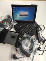 mercedes laptop venda por atacado-Alta qualidade MB ESTRELA C5 para Mercedes para carros e caminhões do Benz com o portátil X201T 2019.03 ferramentas do diagnóstico do carro de DTS SSD