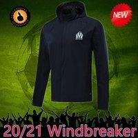 Wholesale jacket soccer for sale - Group buy 2021 Olympique De Marseille Maillot OM Soccer Jersey hoodie jacket Maillot De Foot PAYET BENEDETTO SAKAI KAMARA Football Windbreaker