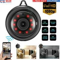 безопасность видений оптовых-Hd 1080p беспроводная WiFi камера домашней безопасности мини-Камера ночного видения беспроводная камера наблюдения