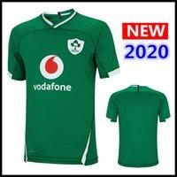 rugby jerseys free shipping 도매-핫 판매 2020 아일랜드 럭비 저지 홈 셔츠 대표팀 아일랜드 IRFU 럭비 셔츠 S-3XL 무료 배송