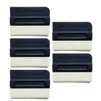 Wholesale magnet factory resale online - 5pcs plastic wool magnet squeegee scraper magnetic holder for automotive wrapping fixator Car Tools CNGZSY Factory Outlet A09