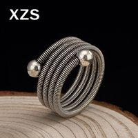 ingrosso porcellana autentica gioielli-Anelli di primavera creativi genuini dell'argento sterlina 925 di 100% Anelli della Cina di stile dell'annata fatti a mano per i monili di lusso del regalo delle donne JZC-8034