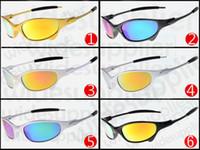 gafas de sol de skate al por mayor-el más nuevo estilo de verano gafas de sol de skate 6 colores gafas de ciclismo gafas de sol para hombres NICE FACE Tome las gafas de sol deslumbra el color