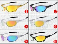 Wholesale white woman sunglasses resale online - summer newest style Skateboarding sunglasses colors cycling glasses sunglasses for men NICE FACE Take the sunglasses Dazzle colour