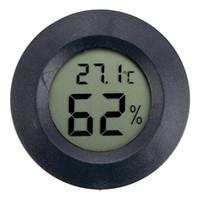 régulateur de température bleu achat en gros de-SOLLED Thermomètre Hygromètre Mini LCD Numérique Humidité Hygromètre Testeur de température mètre pyromètre intérieur à la maison Outil De Mesure