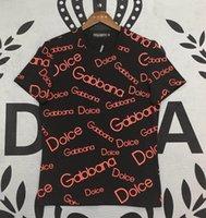 t-shirts der qualitätsmänner großhandel-Dolce Shirt Herren Designer T-Shirt Gabbana Top Qualität T-Shirts DG Boutique Classic T-Shirts Trend Marke T-Shirt M-XXXL Outdoor Sport T-Shirts T-Shirt