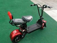 elektrikli scooter kendini toptan satış-Elektrikli araba yetişkin iki tekerlekli küçük katlanır scooter elektrikli öz scooter
