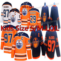 Wholesale edmonton youth resale online - Edmonton Oilers Kids Youth Jerseys Connor McDavid Jersey Leon Draisaitl Ryan Nugent Hopkins Hockey Jerseys