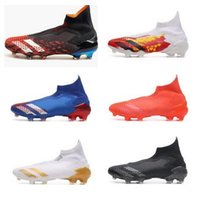 Wholesale paul pogba for sale - Group buy Predator Mutator FG Soccer Shoes PP Paul Pogba Mens Slip On Football Shoes x Cleats Boots High Ankle yakuda cheap wear