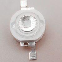 ingrosso bulbo ad alta potenza-LED chip UV perline ad alta potenza 3W lampadina a LED per luce 365 380 390 395 400 410 420 430nm 100 pezzi