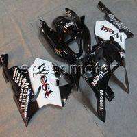Wholesale 1996 kawasaki ninja plastics for sale - Group buy 23colors Botls west black motorcycle Fairing for Kawasaki ZX7R ABS plastic kit
