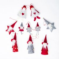 Wholesale mini lovely dolls for sale - Group buy 1Pcs Cute Christmas Series Dolls Mini Christmas Tree Decorations Pendants Lovely Doll New Year Party Decor Accessories