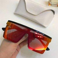 grands lunettes de soleil carrés sans cadre achat en gros de-Nouveau designer de mode lunettes de soleil lentille siamoise 1008 top qualité grand carré ventes sans cadre simples style populaire uv400 lunettes de protection